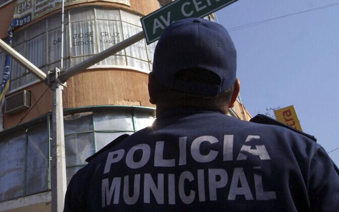 Politseinik Mehhikos Chiapase osariigis.