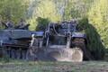 Танковые маневры на