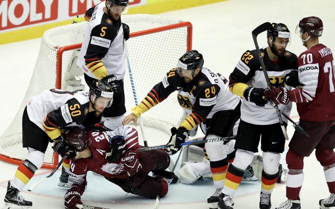 Läti - Saksamaa jäähoki