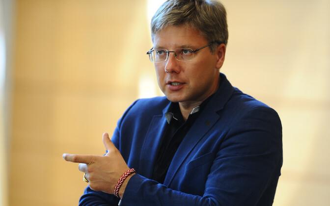 Riia linnapea ja Koosmeele liider Nils Ušakovs.