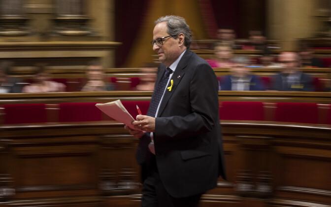 Kataloonia iseseisvusmeelne poliitik Quim Torra.