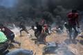 Столкновения на границе сектора Газа.