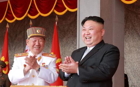 Põhja-Korea juht Kim Jong-un.