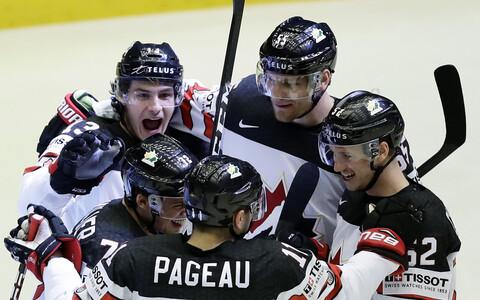 Хоккеисты сборной Канады вышли на игру в роли фаворитов.
