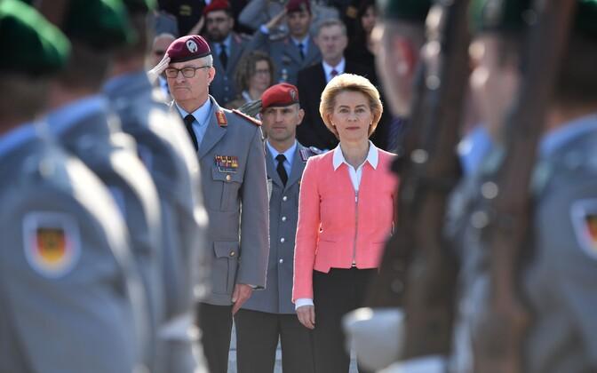 Saksamaa kaitseminister Ursula von der Leyen ütles, et Saksamaa ei suuda täita NATO kaitsekulutuste eesmärki.