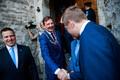День Таллинна открылся встречей Таави Ааса и Юри Ратаса.