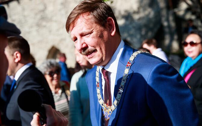 Mayor of Tallinn Taavi Aas.