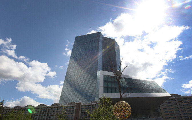 Euroopa Keskpanga hoone Frankfurdis.