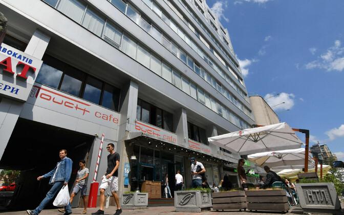 Hoone Kiievis, kus asub RIA Novosti kontor.