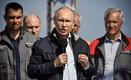 Venemaa president Vladimir Putin 15. mail Kertši silda avamas.
