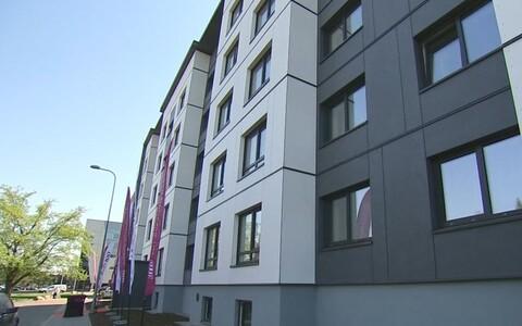 TTÜ projekti raames renoveeritud kortermaja.