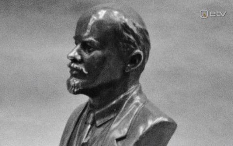 Lenini büst.
