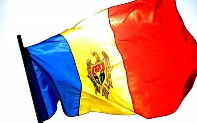 Молдавский флаг.