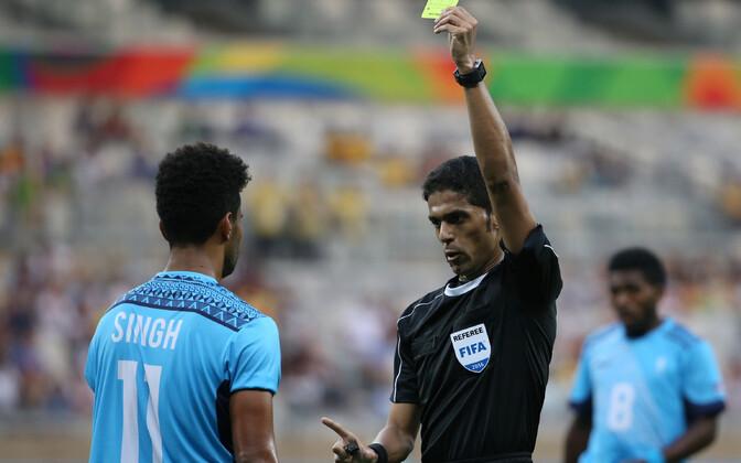 Fahad Al Mirdasi Rio olümpiamängudel.