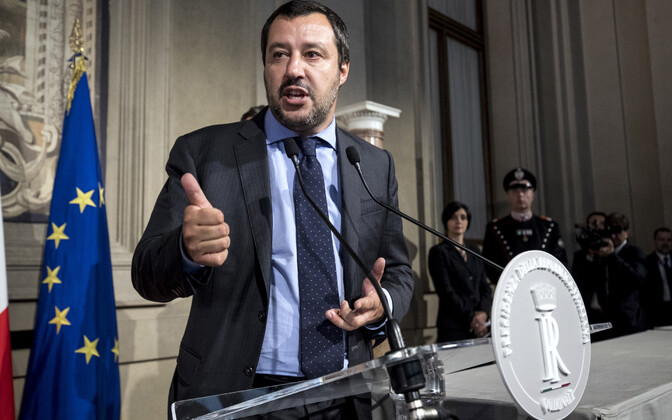 Liiga juht Matteo Salvini.
