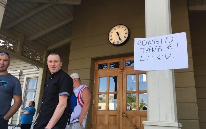 Тартуский вокзал, 16 мая