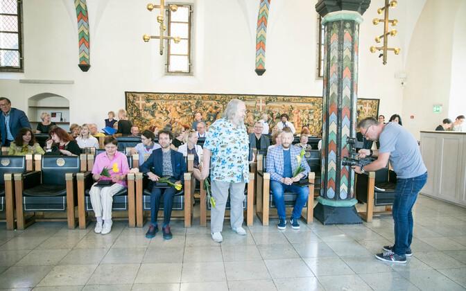 Kristjan Raua preemiate jagamine