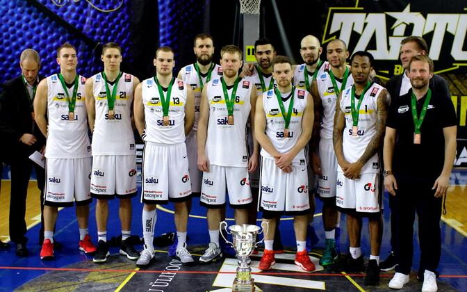 Balti liiga pronksi võitnud Tartu Ülikool