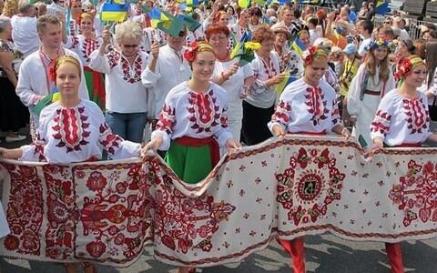 Украинское землячество Эстонии отмечает День вышиванки.