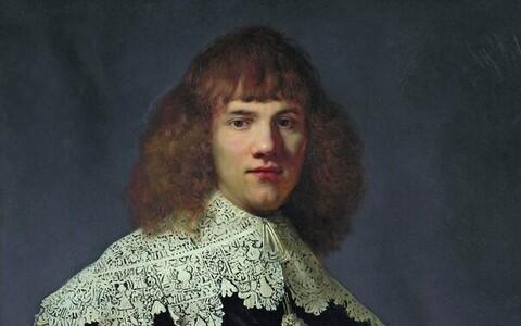 Fragment Rembrandti maalist