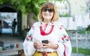 В Таллинне отметили день вышиванки.
