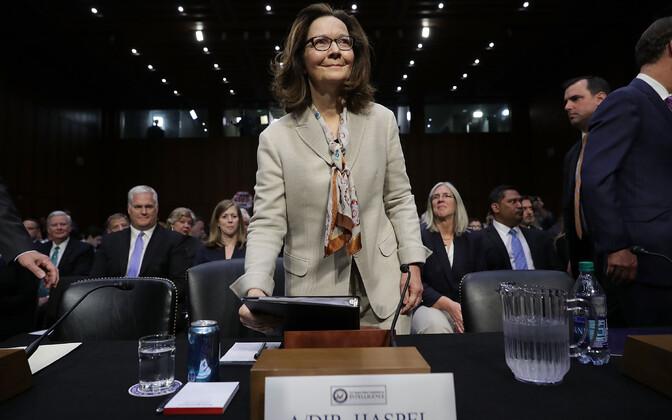 CIA uus juht Gina Haspel senatis.