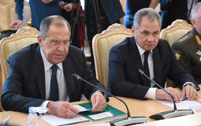Sergei Lavrov ja Sergei Šoigu.