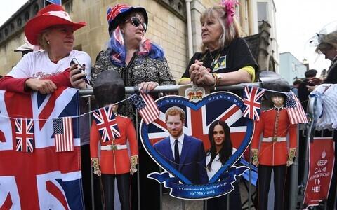 В Великобритании готовятся к свадьбе принца Гарри и Меган Маркл