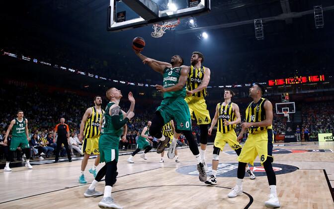 Kaunase Žalgiris ja Istanbuli Fenerbahce poolfinaali kohtumine