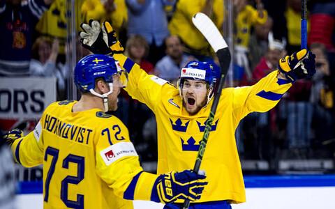 Rootsi jäähokikoondis.