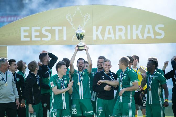 Tallinna derbist väljus Evald Tipneri karikaga FCI Levadia