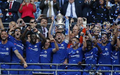 Inglismaa karikasarja võitnud Londoni Chelsea.