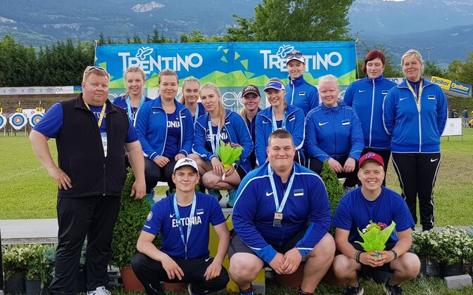 Eesti koondis noorte GP etapil Itaalias