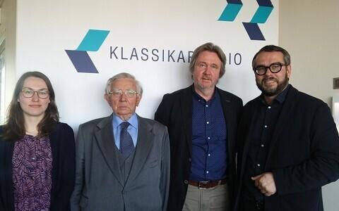Miina Pärn, Enn Tarvel, Toomas Siitan ja Marek Tamm.