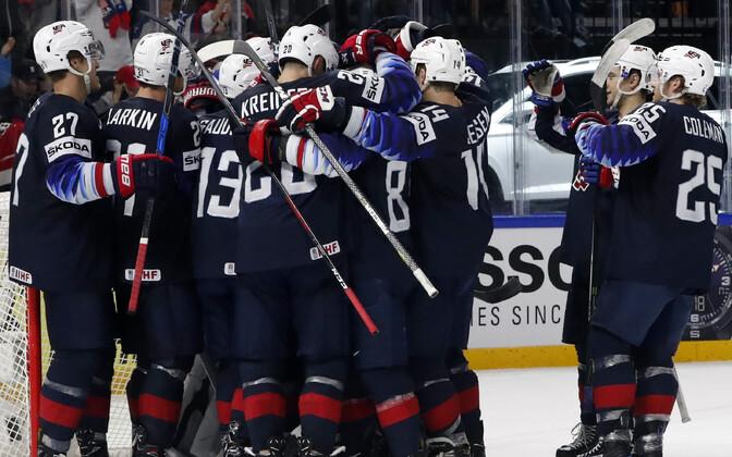 USA jäähokikoondis võitis MM-pronksi