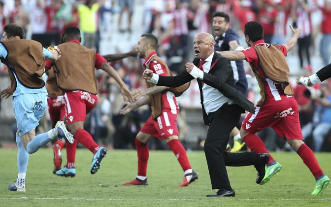 Aves võitis esmakordselt Portugali karikavõistlused