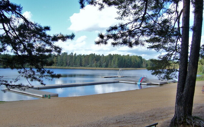 Инцидент случился на озере в Эльва.