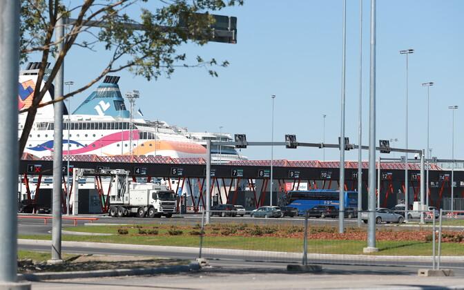 Tallinki laevadele pääseb autoga alates 9. maist sadama Kadrioru poolsest küljest.