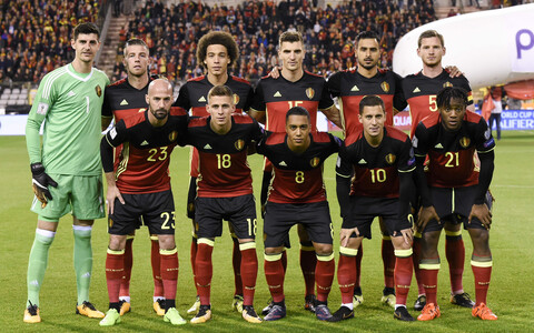 Belgia jalgpallikoondis.