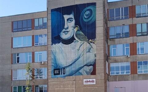 Jaak Joala portree Narvas