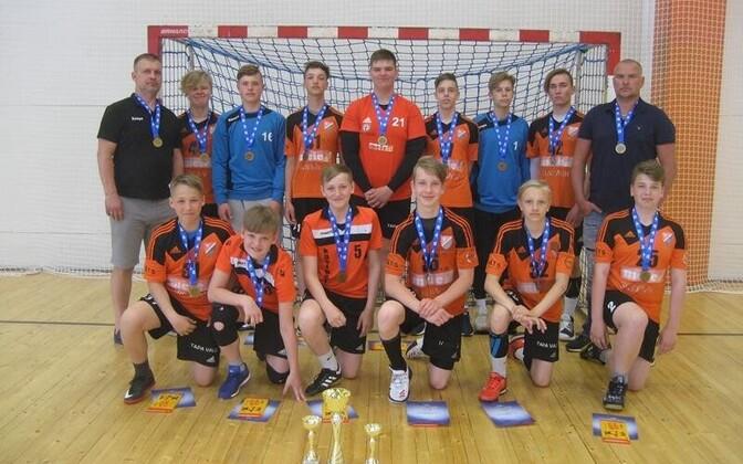 Spordiklubi Tapa noormehed võidumedalitega
