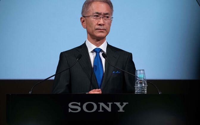 Sony CEO Kenichiro Yoshida.