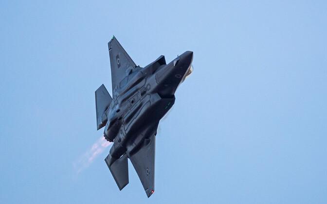 Iisraeli õhuväe sõjalennuk F-35.