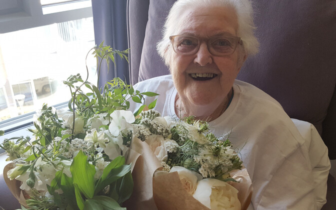 89-aastane patsient Pauline Clayton