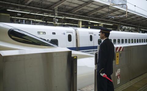 Tokyo raudteejaam, arhiivifoto.