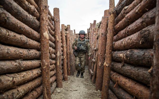 Ukrainian soldier in Donbass region (archive photo)