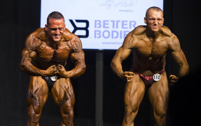 Ott Kiivikas ja tema õpilane Ivo Parveots, kes nüüd andis positiivse dopinguproovi.
