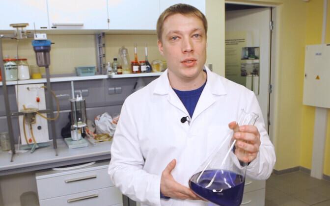 Ученый Юрий Болобаев.