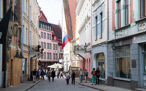 The Russian Embassy in Tallinn.