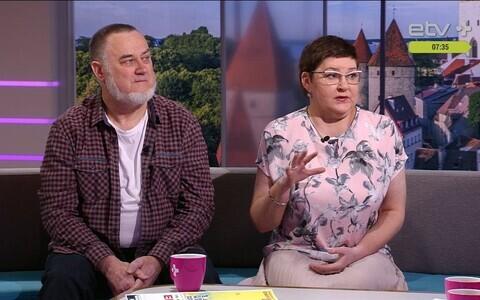 Игорь Глазистов и Марина Наабер-Глазистова.